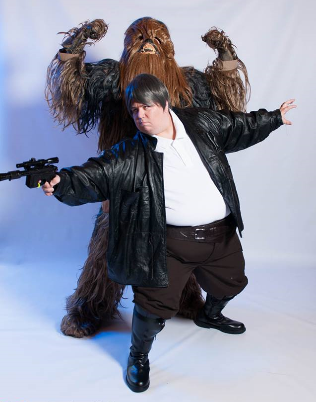 Off to Mos Eisley, Wookie by my side... by GiantSizeBrandon