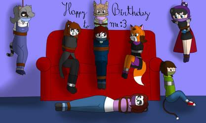 Happy birthday to me :D