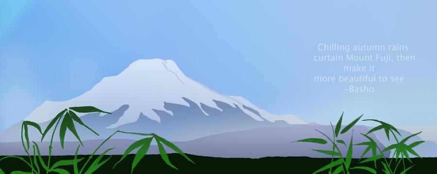 Matsuo Basho's Mount Fuji by alm16