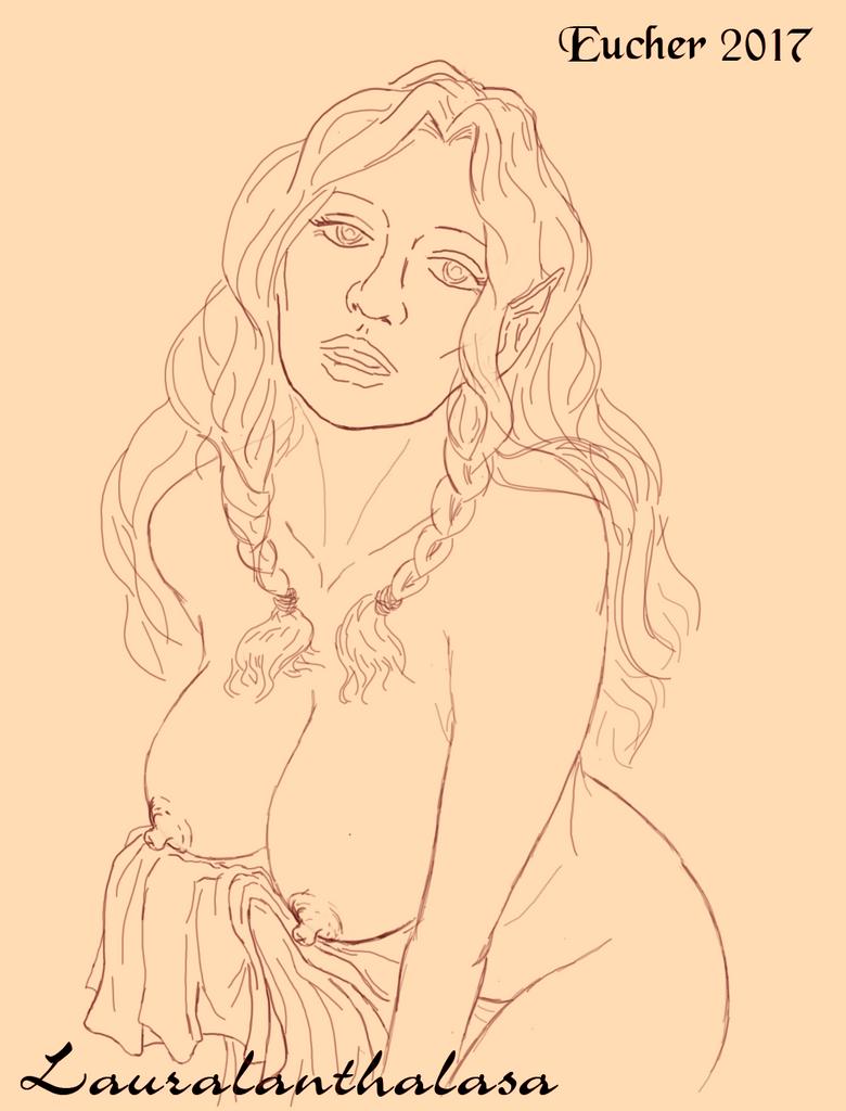 Laurana Bust by Aelindia