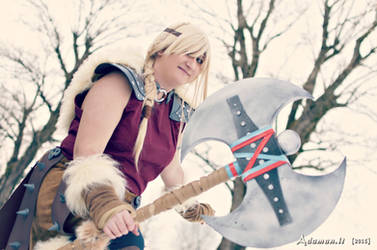 Astrid Hofferson_How To Train you Dragon