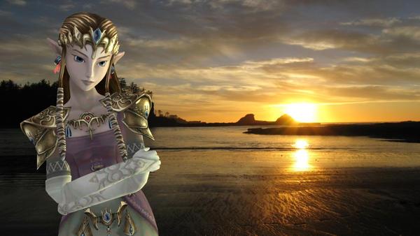 Zelda in a Twilight 3D by oOPrinzessinZeldaOo
