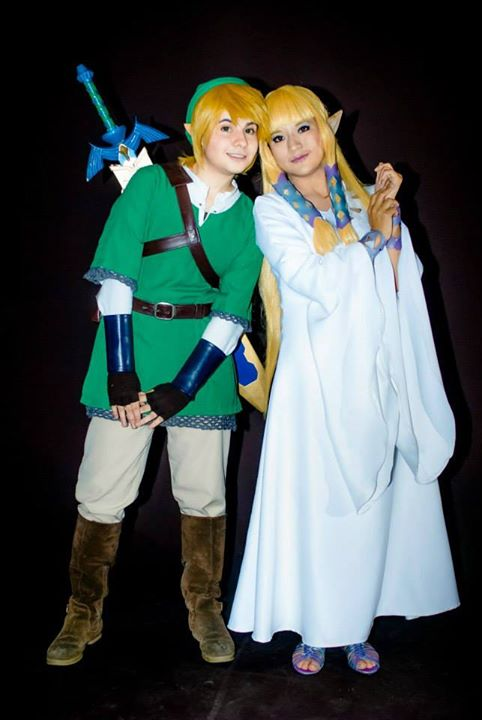 Link and Zelda Goddess - Skyward Sword by oOPrinzessinZeldaOo