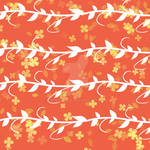 Textile Pattern A10 - Chinese Golden VIne