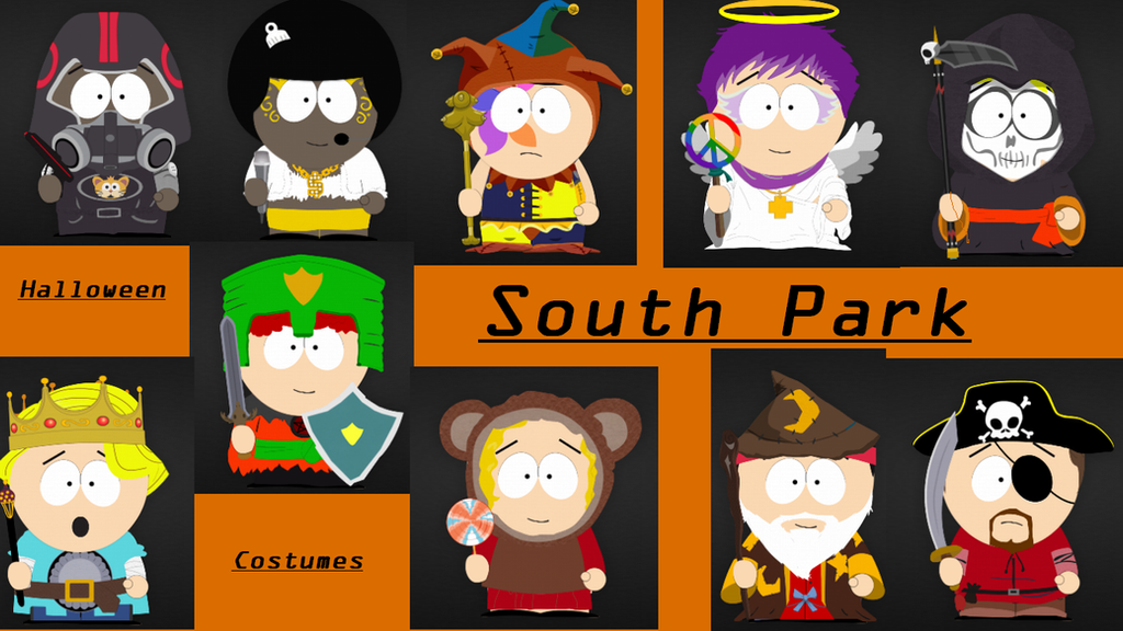 South Park Halloween Costumes by UnaLoba23 on DeviantArt