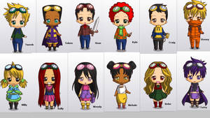 Chibi South Park Post-Apocalyptic Squad