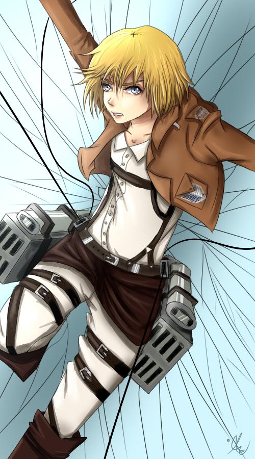Attack On Titan Armin Fanart