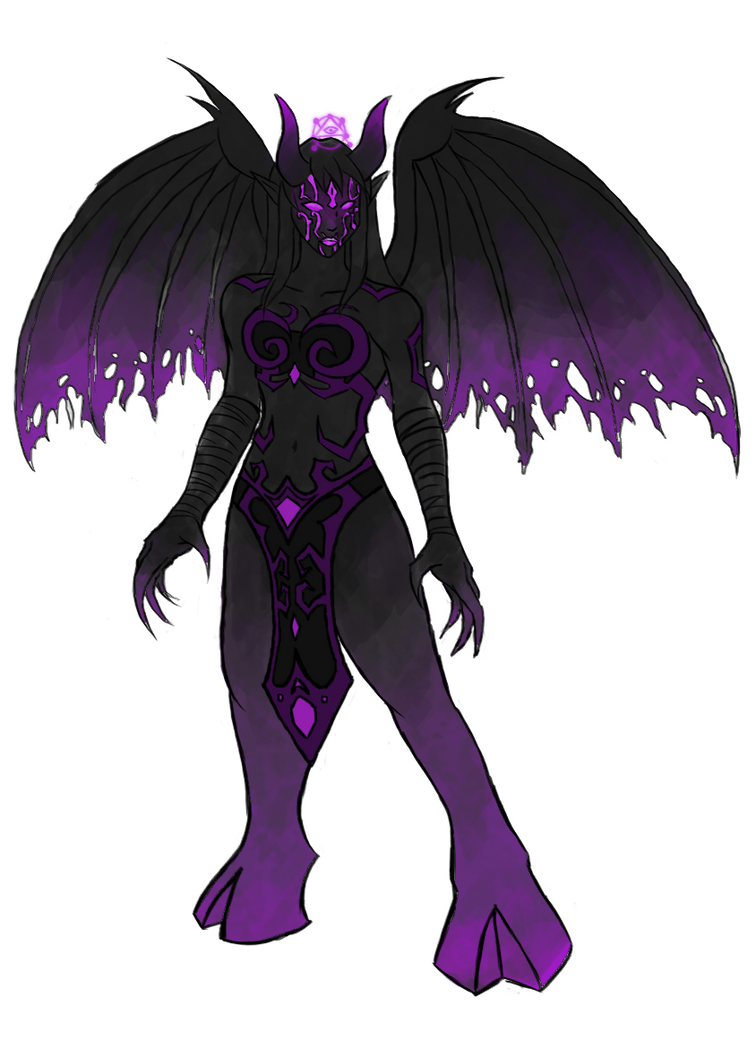 Female Demonform Redesign by darazan