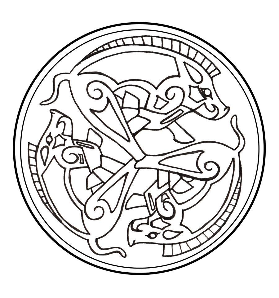 celtic war symbols