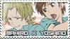 Zetsuen no Tempest stamp: Mahiro x Yoshino by mikurumikichan