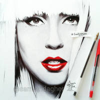 Lady Gaga by samiahdagher