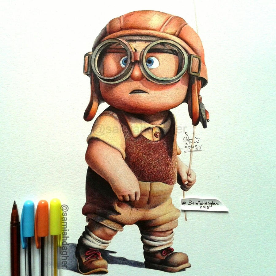 Young Carl by samiahdagher