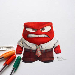 Anger by samiahdagher