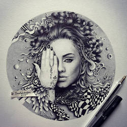 Adele by samiahdagher
