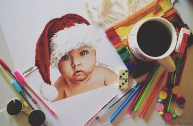 Christmas cutie by samiahdagher