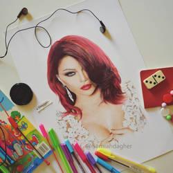 Haifa Wehbe by samiahdagher