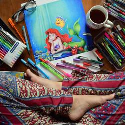 Ariel by samiahdagher