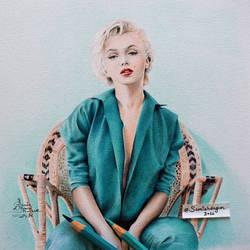 Marilyn Monroe by samiahdagher