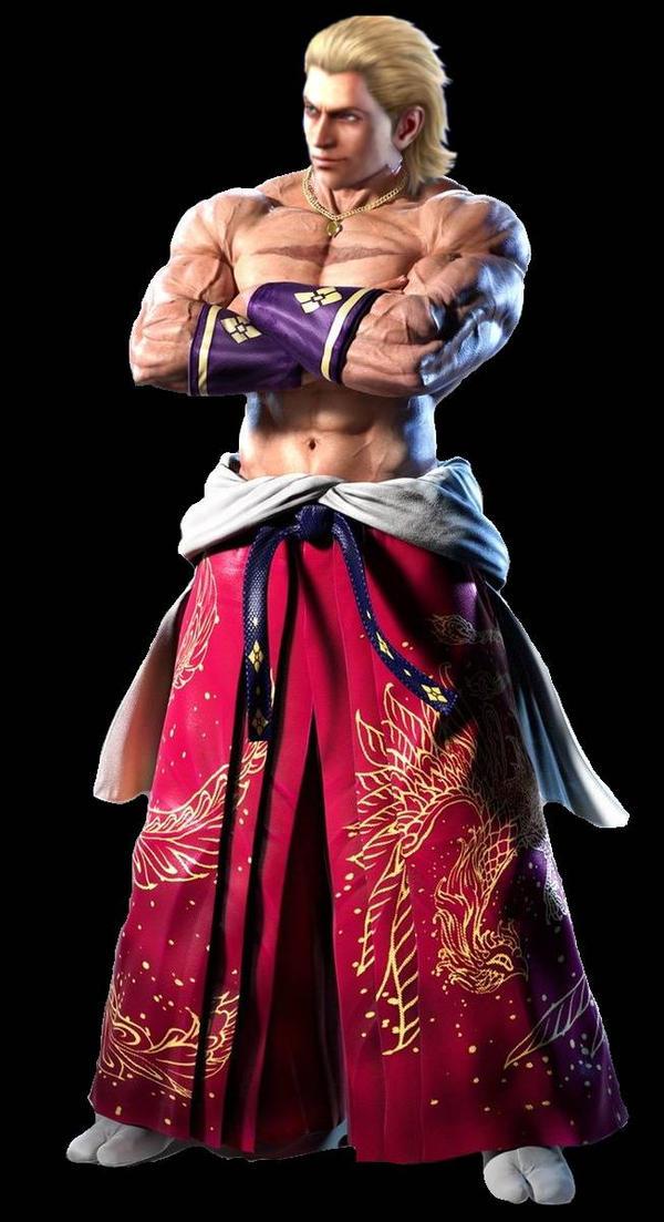 Steve Fox In Geese Howard S Cloth Tekken 7 Kof By Tekkenftl On Deviantart
