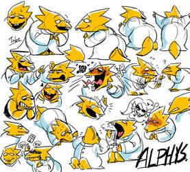 alphys by tabe103