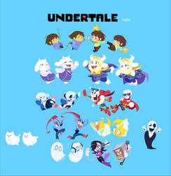 UNDERTALE Happy 1st Anniversary! by tabe103