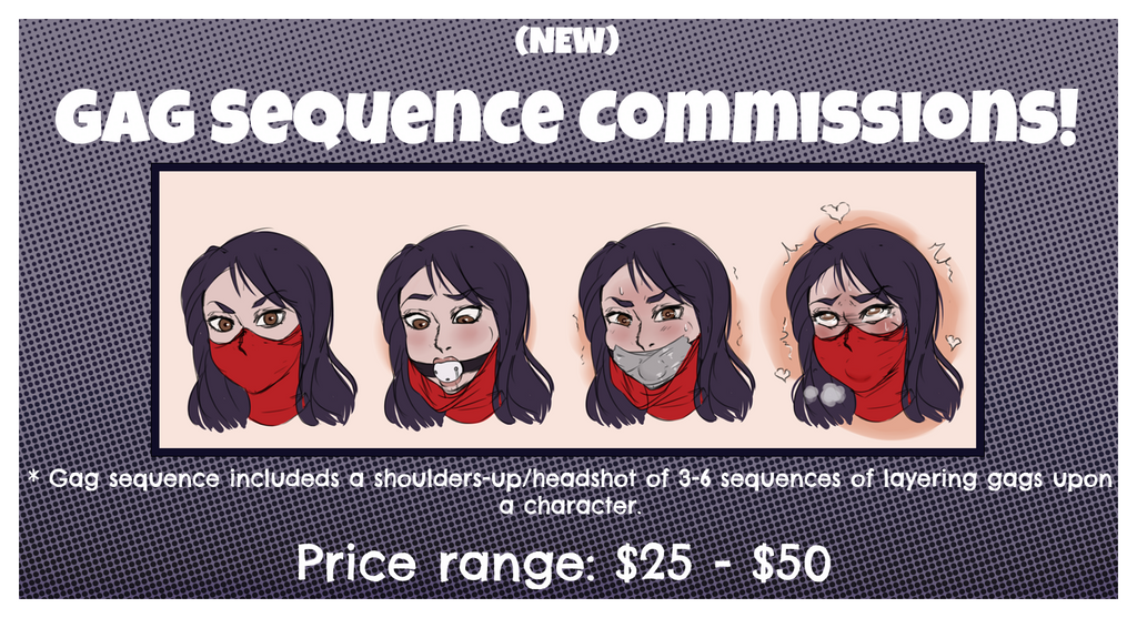 Commissions2017 Gagsequence Text by TBSP-Art