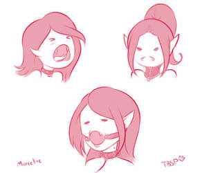 Marceline in Collars