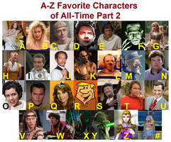 A-Z Characters Part 2