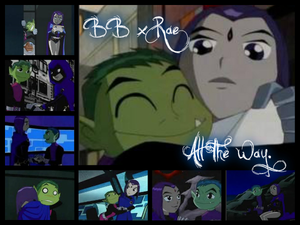 Beast Boy And Raven Love Raven And Beast Boy by Zame328
