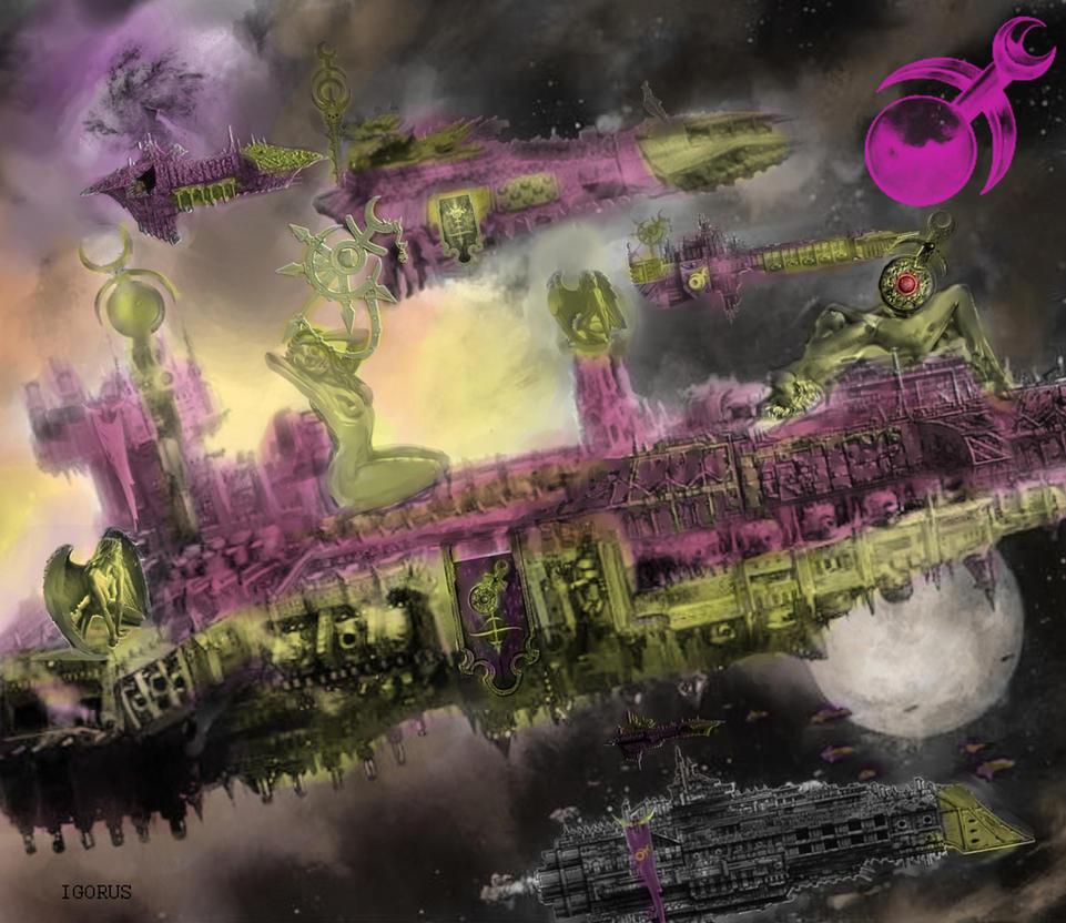 Fleet of Dark Prince. by Igorus1985