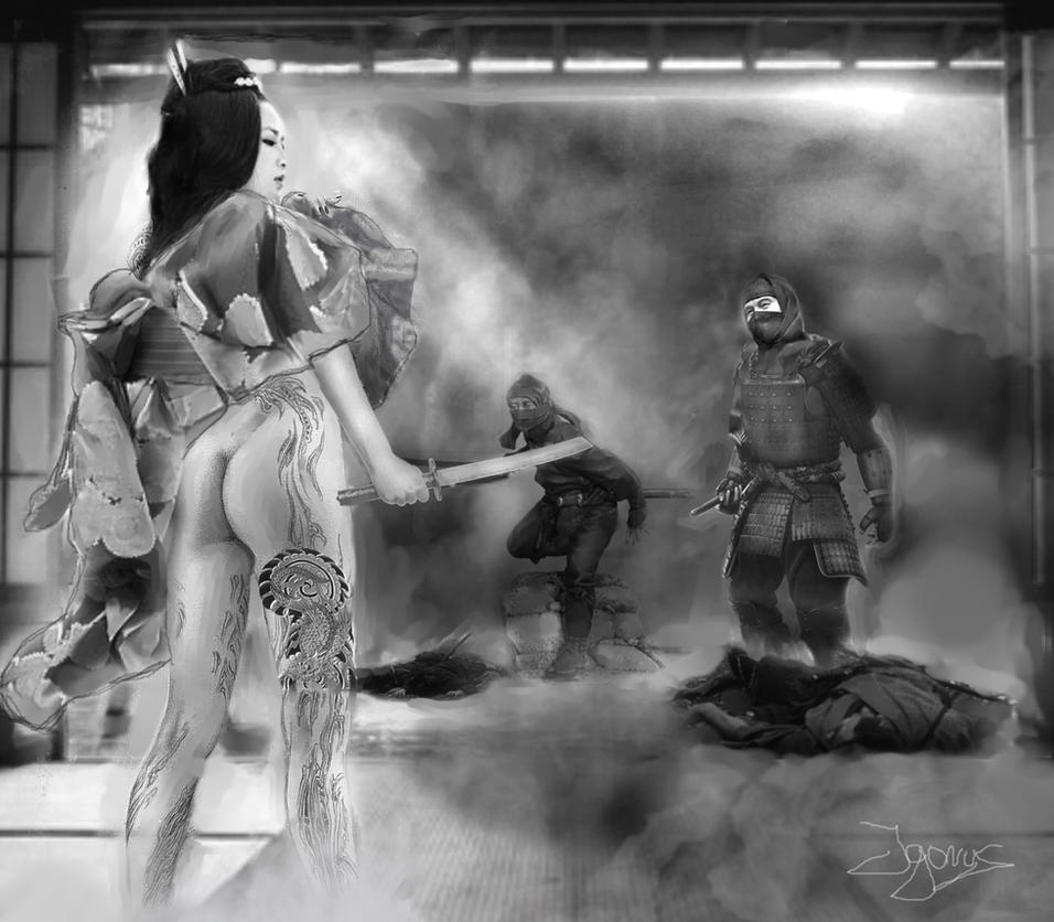 Oriental Duell by Igorus1985