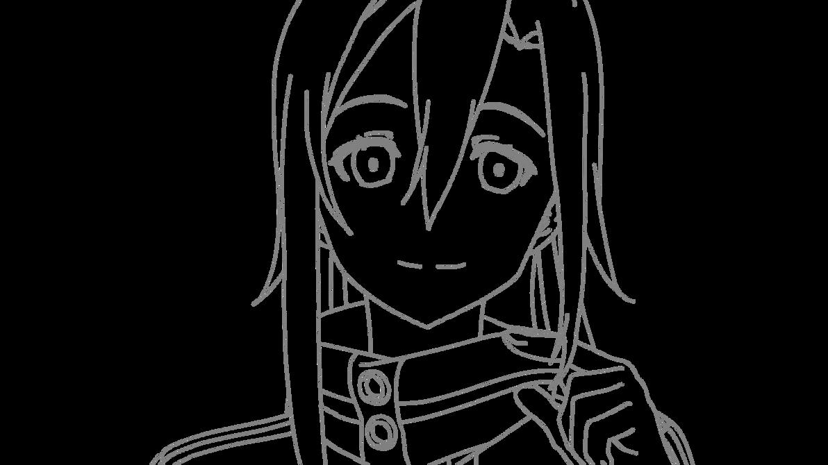 Kirito Ggo Drawing