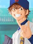 Sawamura Eijun :Ace of Diamond: Colo