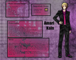 Ace Attorney Oc: Amari by Goay