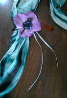 Persephone Fancy Hair Flower by Starlit-Sorceress