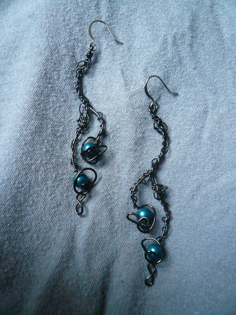 Ecium Earrings by Starlit-Sorceress
