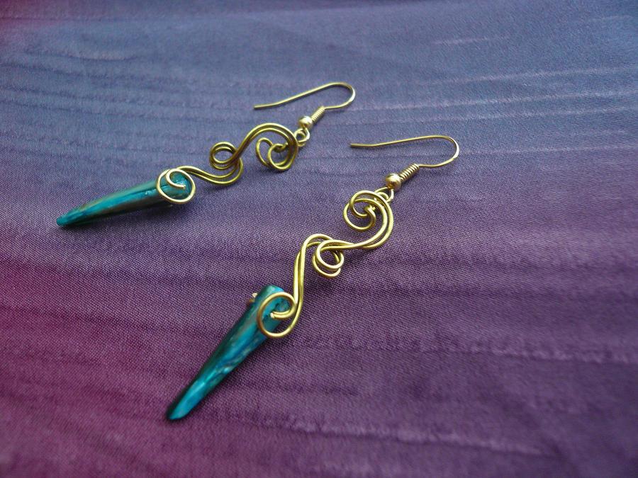 Wintersong Earrings by Starlit-Sorceress