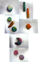 Watercolor Beads