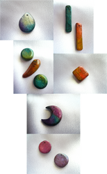 Watercolor Beads by Starlit-Sorceress