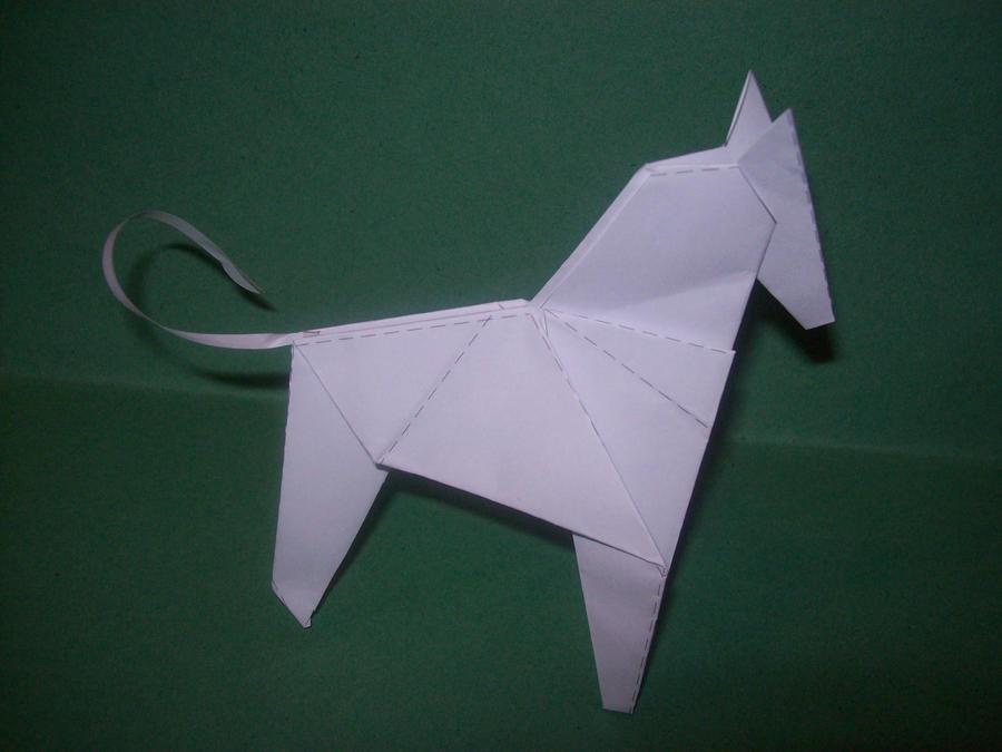 origami zebra by supersmeg123 on deviantart