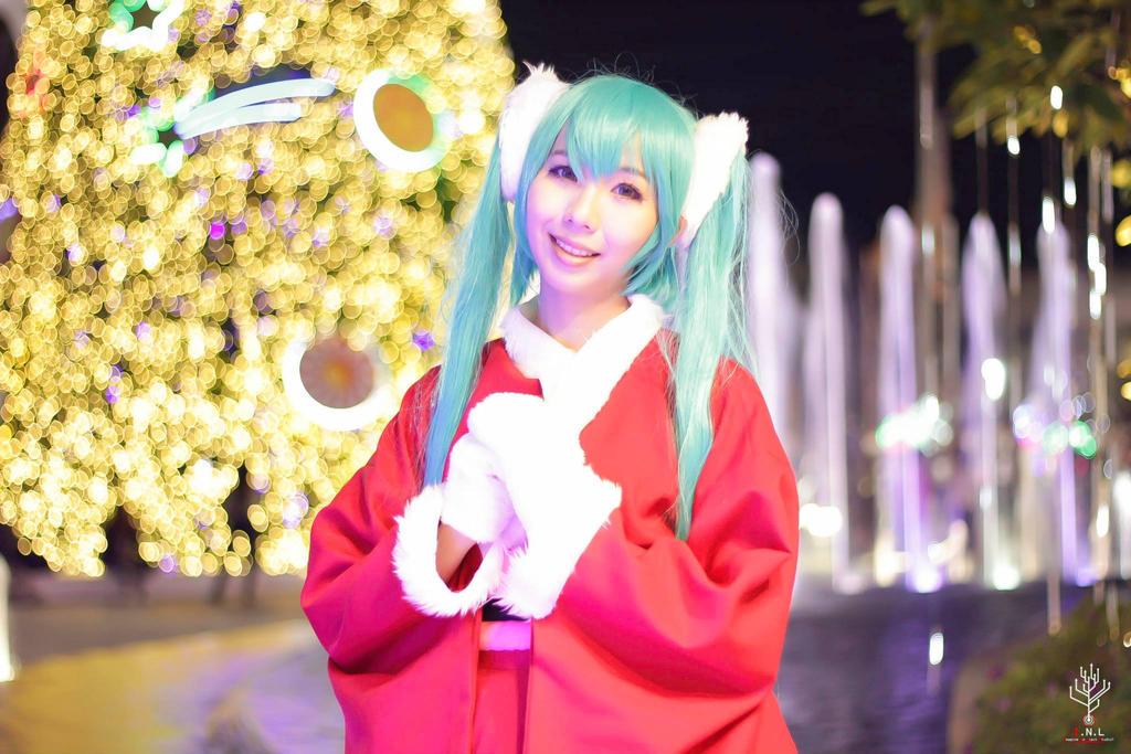 Hatsune Miku - Merry Christmas by Negize