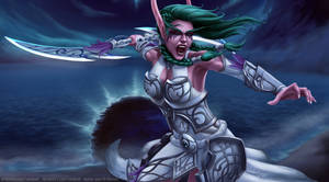 Tyrande Night Warrior
