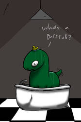 Opa's bath time by MonotonyArt