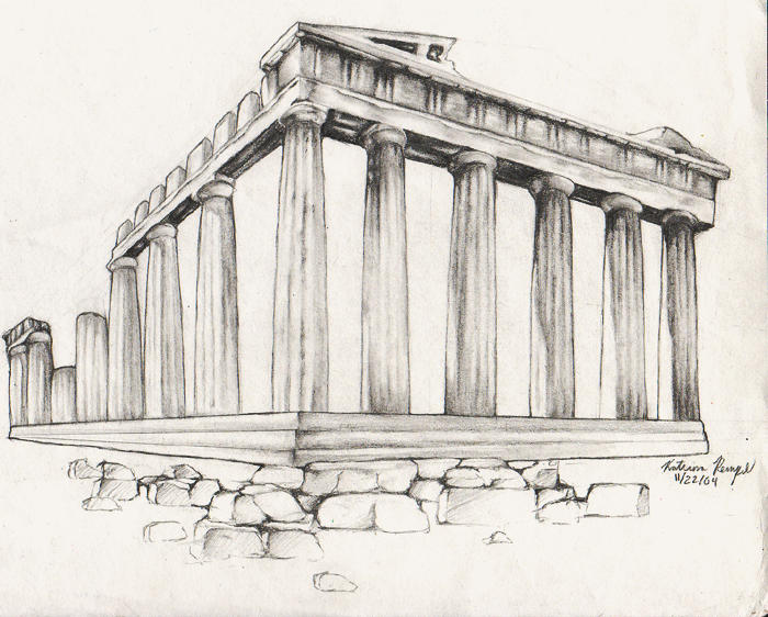Parthenon : Remains by kat-angel on DeviantArt