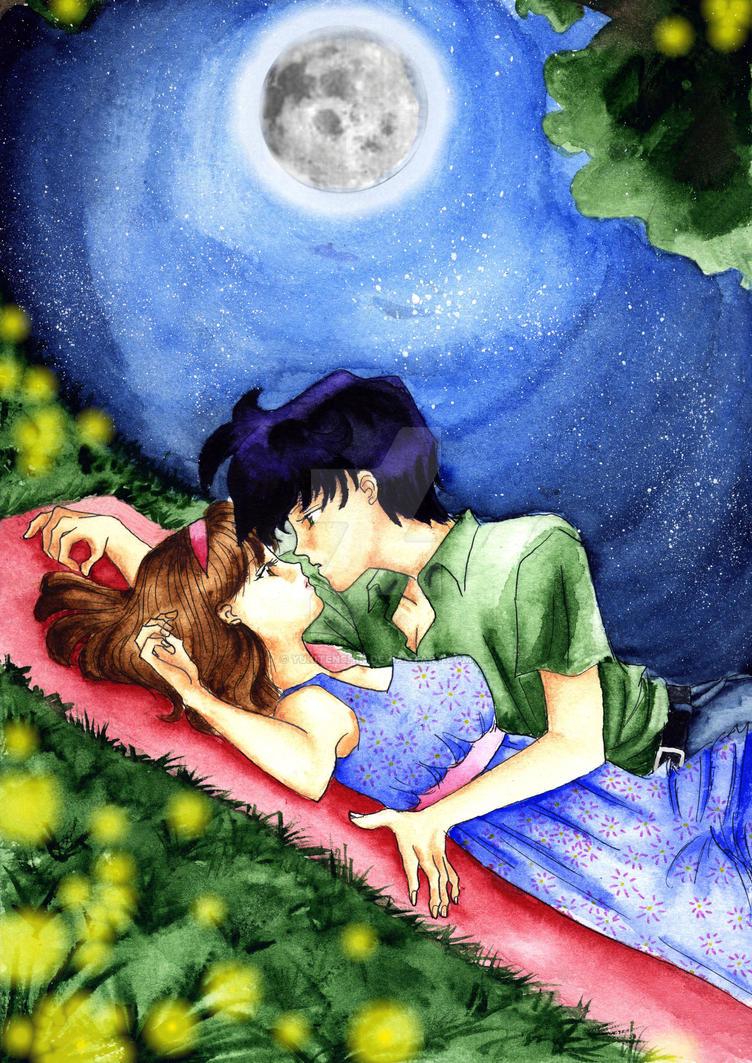Only the fireflies... by YukiTenshin