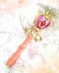 Sailor Moons Spiral Heart Moon Rod