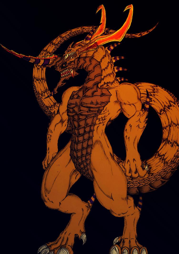 Osiris The Adjudicator (Actual Colours) by JeffDaLegend