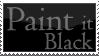 paint it black - the stamp by KunstRitter
