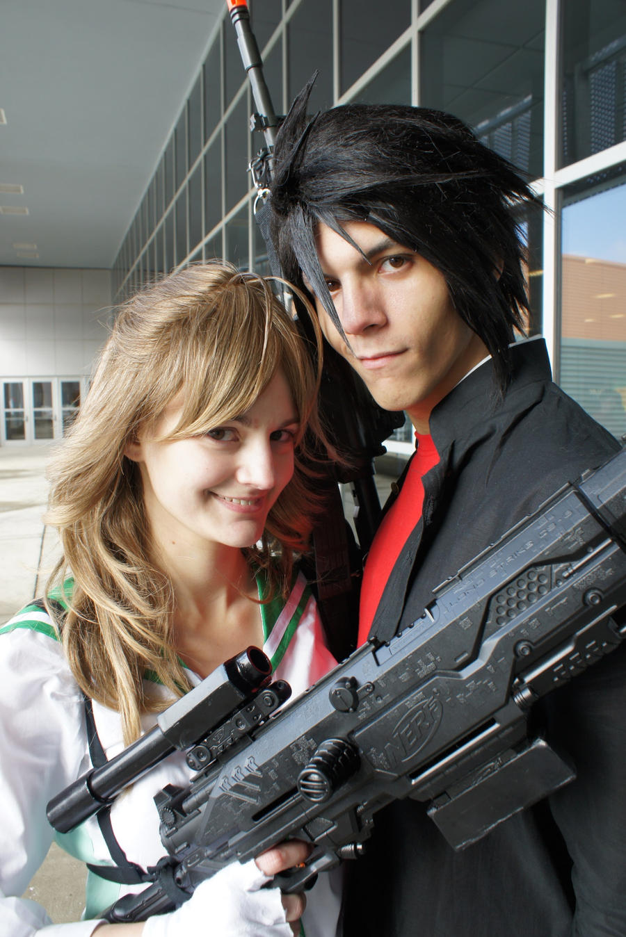 Takashi and Rei by Uch...