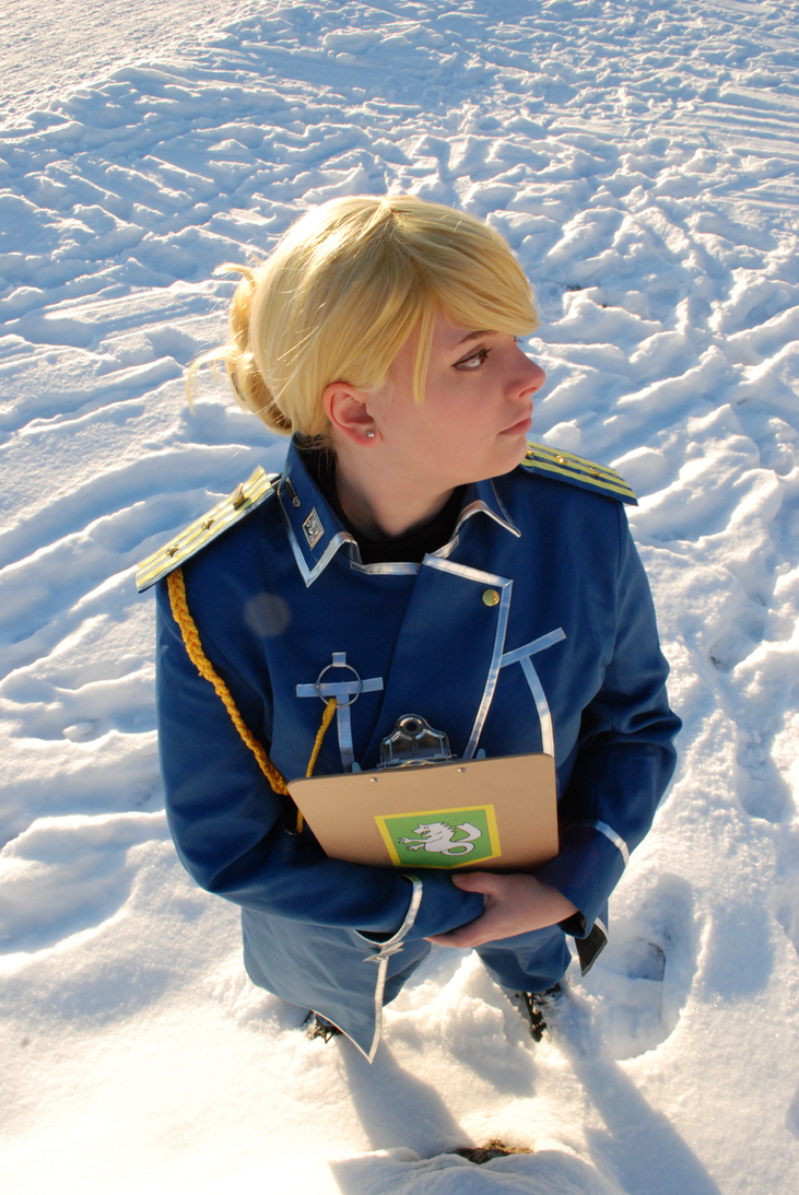 Riza Hawkeye - Briggs. by Millahwood